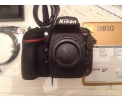 Nikon D810 / d800
