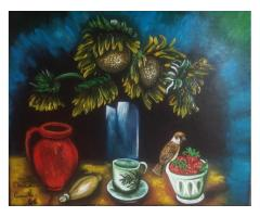 creazione artistica dipinti eseguiti a mano opera originali pezzi unici.