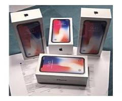 Apple iPhone X 64GB per €350 ,iPhone X 256GB per €380,iPhone 8 64GB €280,iPhone 8 Plus 64GB €290
