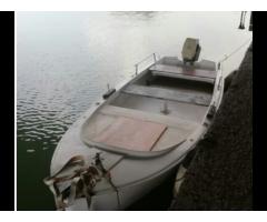 Barca con motore johnson 15 CV