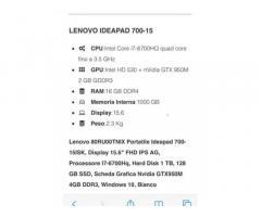 Lenovo ideapad 700 - come nuovo