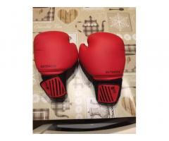 Saccone e guanti da box