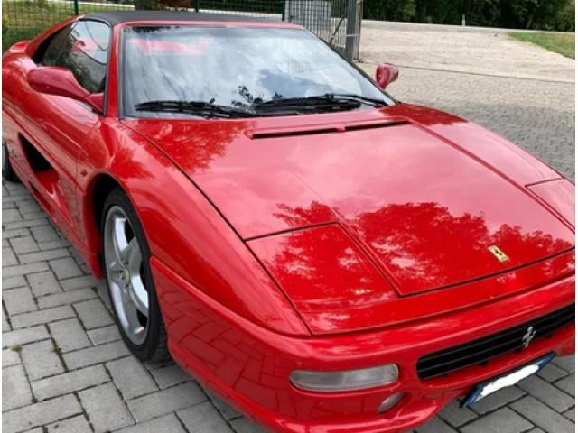 Ferrari F355 GTS Service Book - 1/6