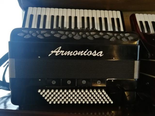 Fisarmonica Armoniosa Cooper fisa 96 bassi - 3/3