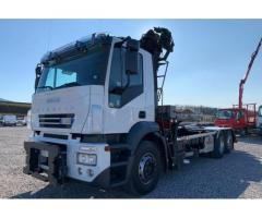 IVECO STRALIS AD260T43 3 ASSI CARICATORE + SCARR