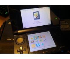 Nintendo 3ds 3d nera