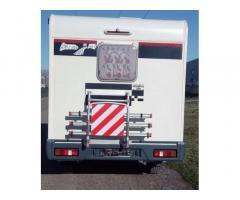 Camper mansardato Rimor su meccanica Ford Transit