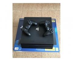 Playstation PS4 Pro 4K + 2 Joypad Originali
