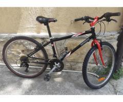 Bicicletta mtb Decathlon con ruote da 24