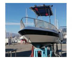 Barca 625 open con t-top, motore Yamaha 40 cv