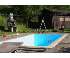 Casa indipendente con piscina collina piacenza