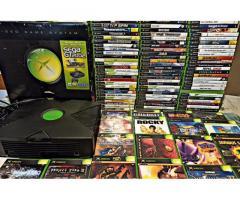 Lotto stock Xbox primo modello 87 giochi orig