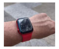Apple Watch serie 6 44 cellular ROSSO