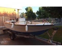 Carrello porta barca